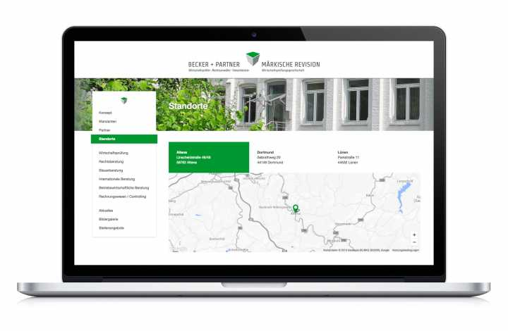 Corporate Design - Logos, Geschäftsausstattung, Internetseite, Key-Visual, Gebäude-Leitsystem