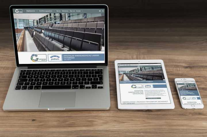 Responsive Webdesign - Konzept, Entwurf, Umsetzung