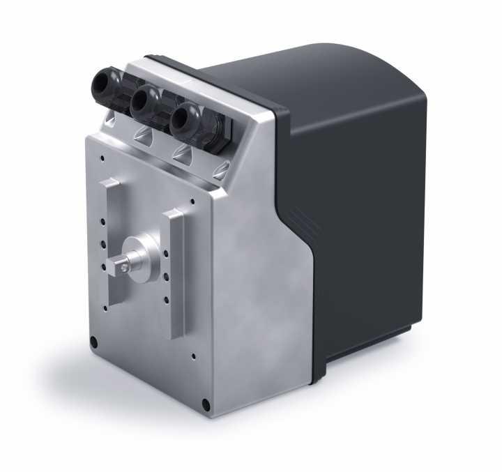 Stellantrieb zur Betätigung von Gas- und Luftklappen - Industriedesign, User Interface