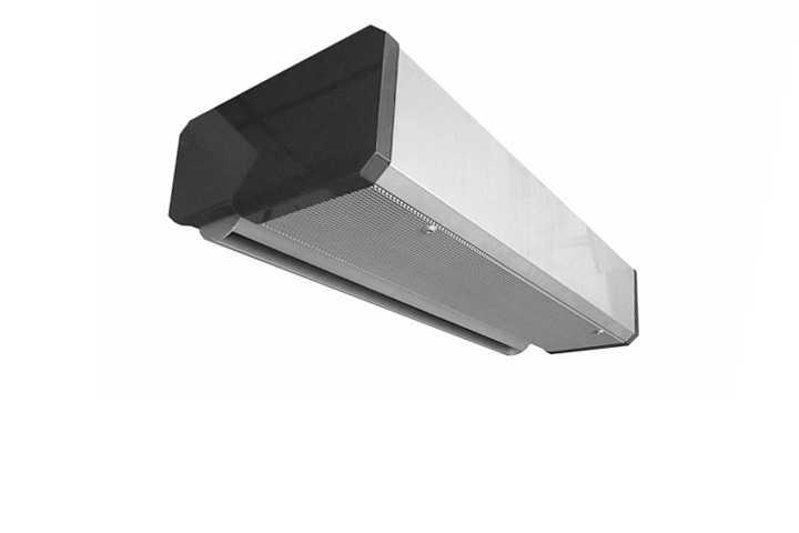Air curtain system - Industrial design
