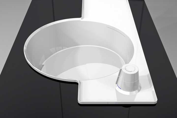 Waschbecken mit integrierter Armatur - Design zu verkaufen / Hersteller gesucht