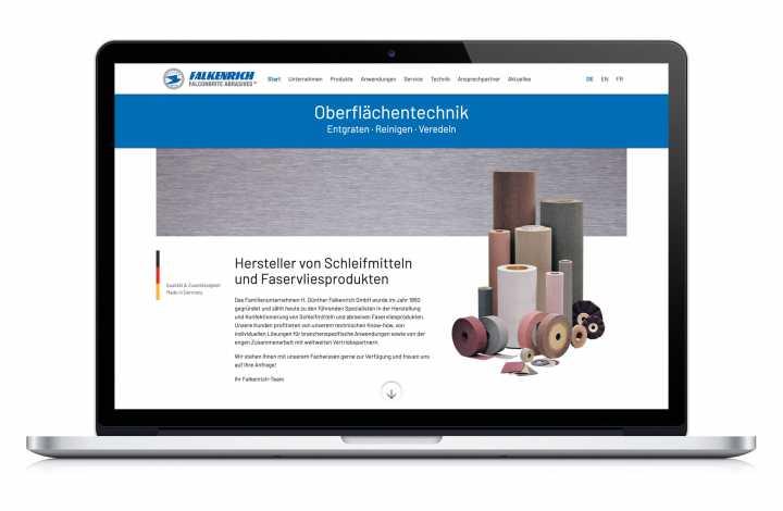 Responsive Webdesign - Entwurf, Umsetzung, CMS, Logo