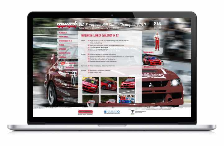 Webdesign - Entwurf, Umsetzung, CMS